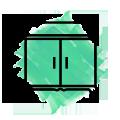 muebles a medida icono verde